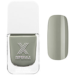 "F""Fearless"" nail polish from Sephora. The perfect blend of green,blue and gray."